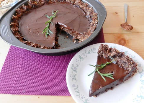 Raw chocolate, Lavender and Tarts on Pinterest