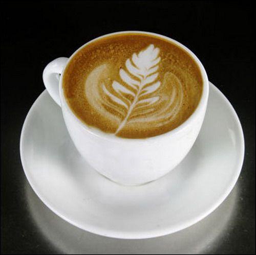 Latte - rosetta