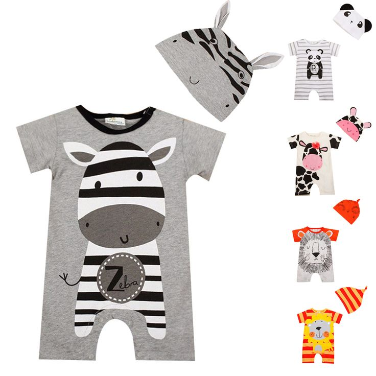 Cool Baby Boy Clothes 2017 Summer Baby Girls Clothing Sets Cotton Baby Rompers Newborn Baby Clothes Roupas Bebe Infant Jumpsuits - $15.78 - Buy it Now!