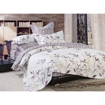 City Scene Sassafras Wisteria Comforter Set Duvet Cover