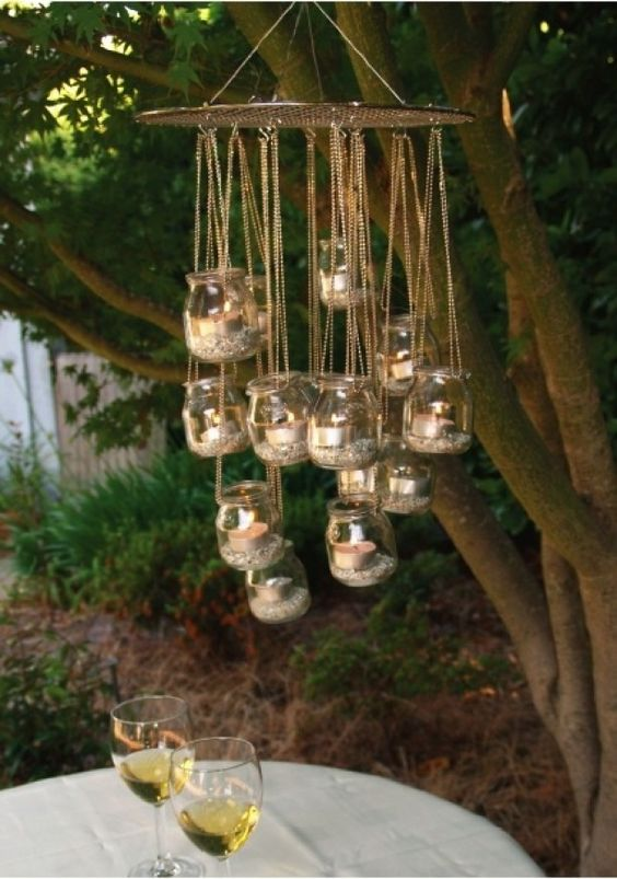 Gemütliche Kerzchen im Garten mit diesen hausgemachten Windlichter, 10 tolle Ideen! - Seite 2 von 10 - DIY Bastelideen