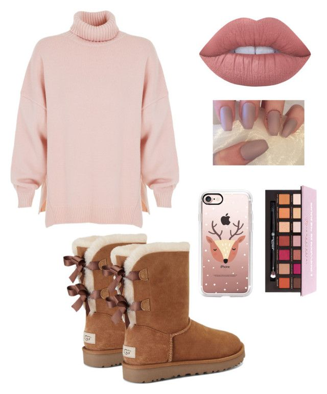 """Untitled #14"" by shmoneyybihh on Polyvore featuring TIBI, UGG, Lime Crime and Casetify"
