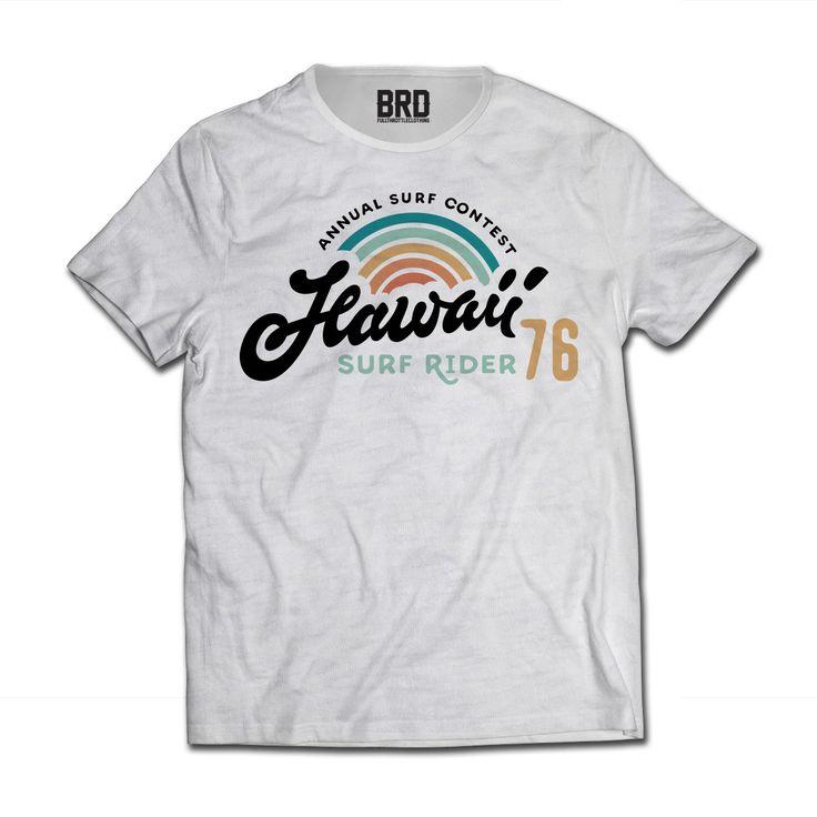 Tshirt 100% Surf Vintage Style