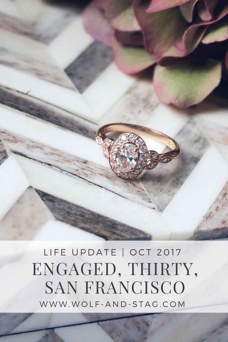 October was a crazy month for me: I got engaged, I turned 30, and I moved from London to San Francisco. Come read about my journey over on wolf-and-stag.com | Wolf & Stag