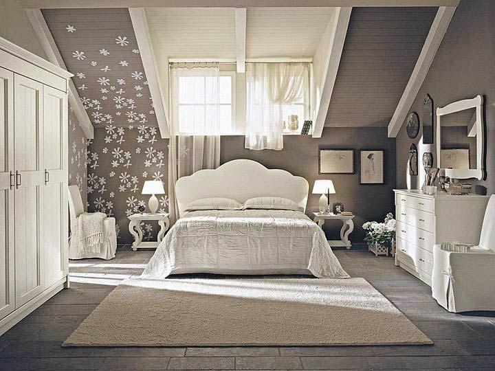 Wohnideen schlafzimmer dachschräge  8 besten Schlafzimmer Bilder auf Pinterest | Haus, Schlafzimmer ...