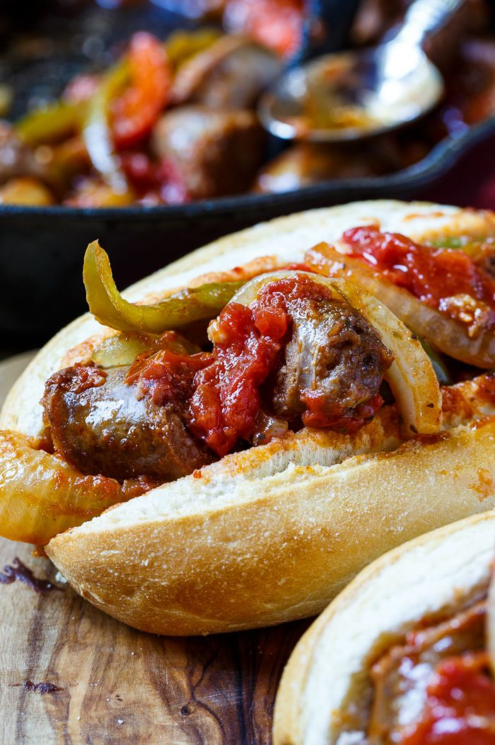 how to make italian sausage sandwiches