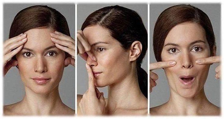 """Мышцы лица можно тренировать, как и мышцы тела. 8 упражнений для лица — и результаты впечатляющие! Молодое, красивое лицо — это не только хорошая кожа. О молодости говорят высокие скулы, красивая линия подбородка, отсутствие носогубных """"заломов"""". Увы, но время и сила земного притяжения делает лицо """"уставшим"""": мышцы слабеют, и щеки опускаются вниз, появляется двойной подбородок. Лицо начинает хуже снабжаться кровью,"""