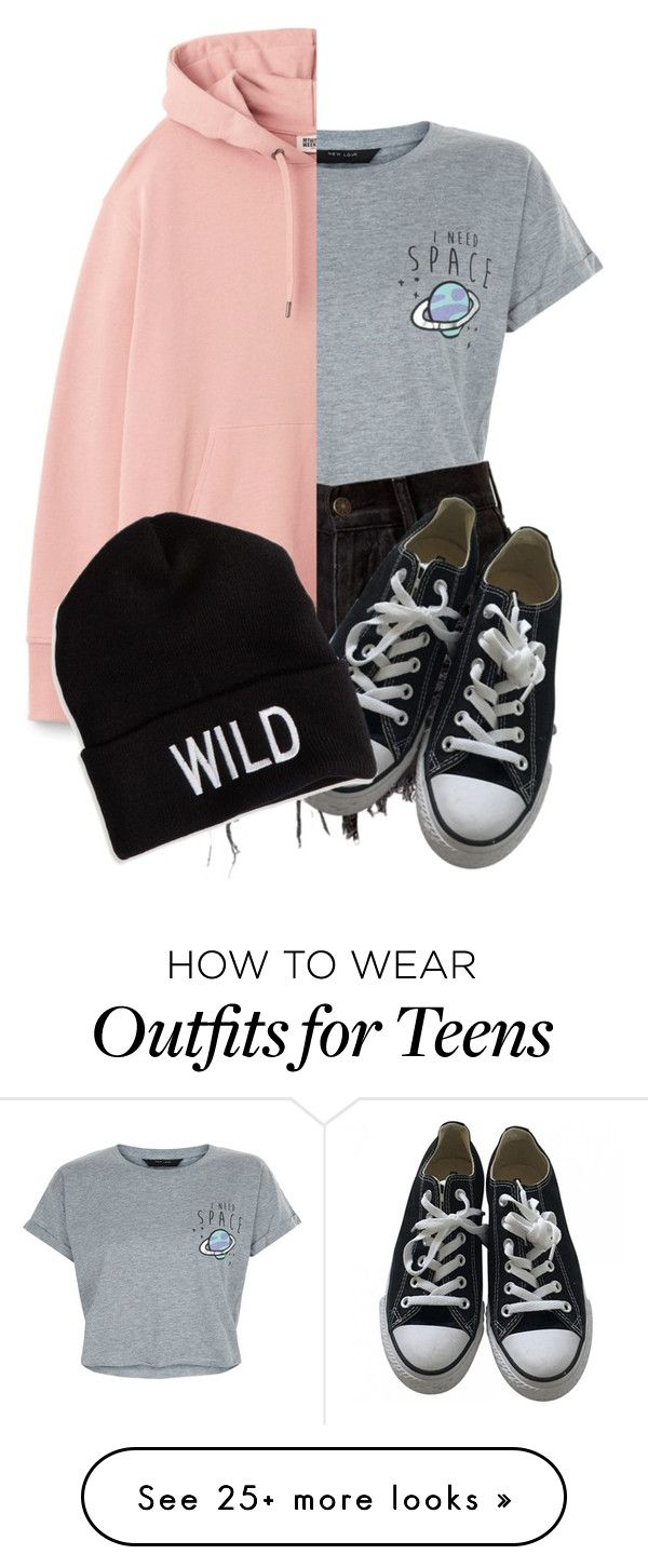 """""""WILD"""" by always-in-the-clouds on Polyvore featuring New Look, Converse and American Eagle Outfitters"""