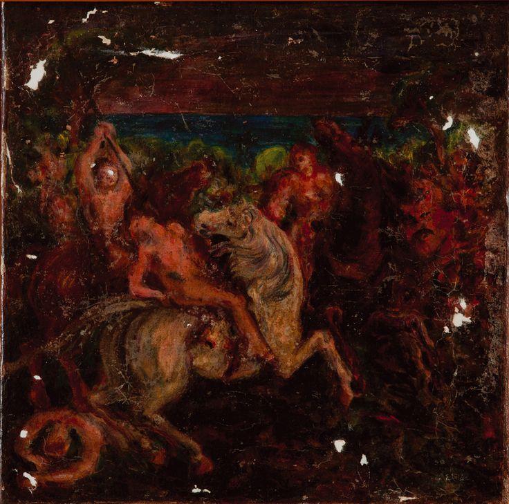 Batalha - Aligi Sassu - 1938