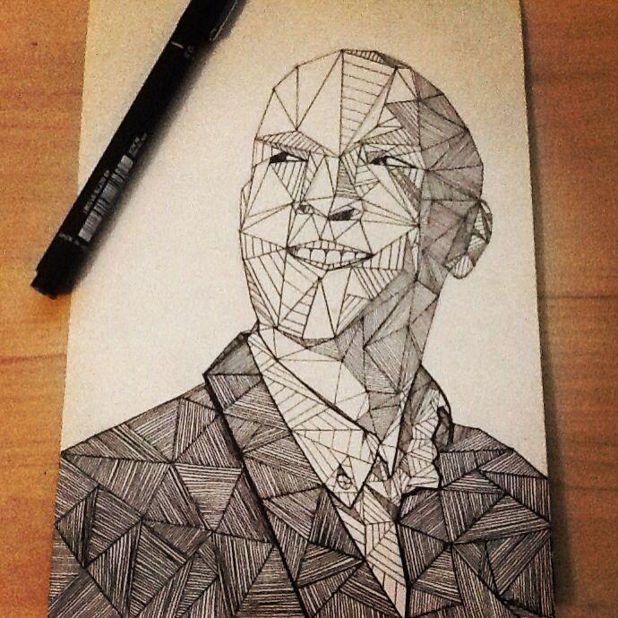 Derren Brown Infamous Drawing