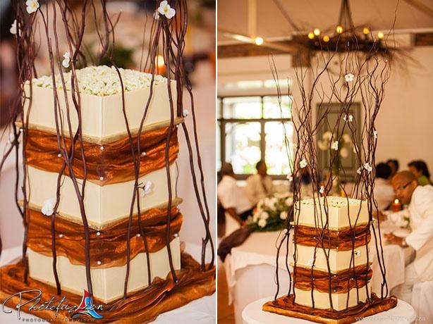 custom designer #wedding cake
