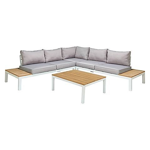 Encourage a relaxed atmosphere in your space with the Zanui exclusive Celio 4 Piece Outdoor Lounge Set from Thyhom.