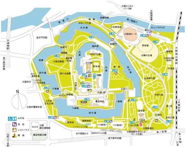園内マップ MAP │ 大阪城パークセンター
