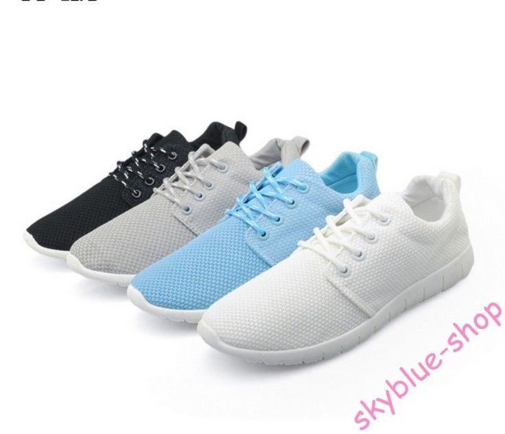 Womens Flats Breathable Mesh Lace Up Casual Runing Shoes Girls Back School Shoes
