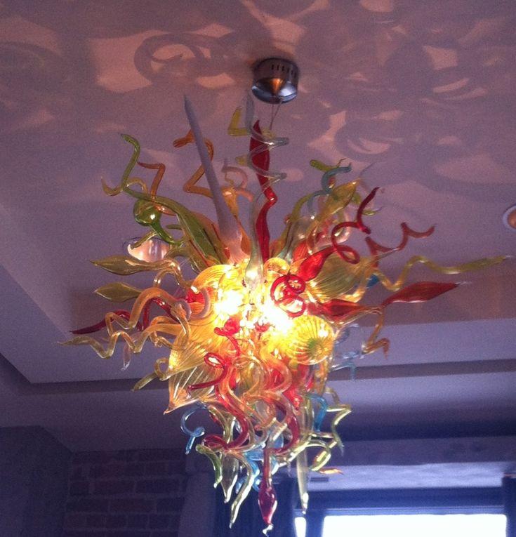 Chihuly chandelier, Glenn Hotel Atlanta, Georgia. By Katherine Helms Cummings.