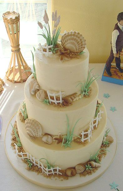 How cool is this!!: Cakes Beaches, Beaches Cakes, Beaches Ocean, Holidays Cakes, Amazing Cakes, Cakes Cakes, Wedding Cakes, Cakes Design, Cakes Spir