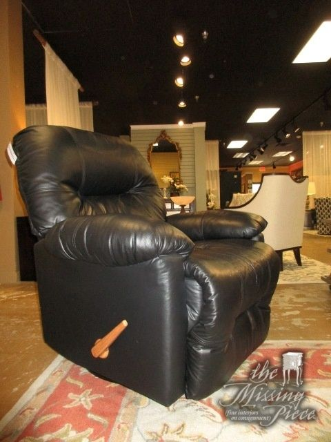 Best Chairs Co. swivel rocker recliner chair in black. What a cozy chair : bronson recliner - islam-shia.org