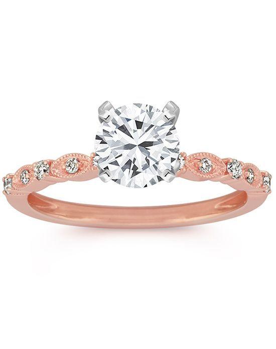 Engagement Rings : Illustration Description Pave Engagement Ring | Shane Co  | Trib.al/
