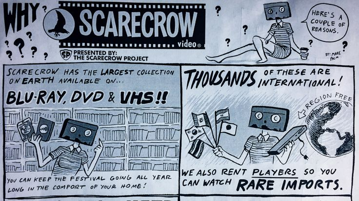 Scarecrow Video: keeping the in-person video store tradition alive  This Must Be The Place podcast