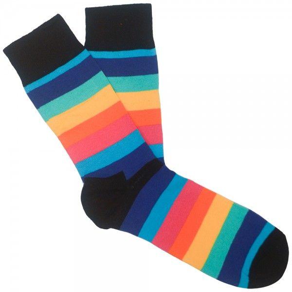 Happy Socks - Stripe sock multicolour