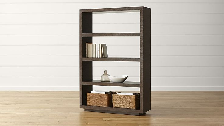 Channel Bookcase | Crate and Barrel