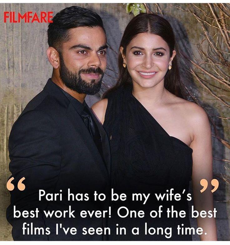 Virat Kohli is all praise for Anushka Sharma's performance in Pari!