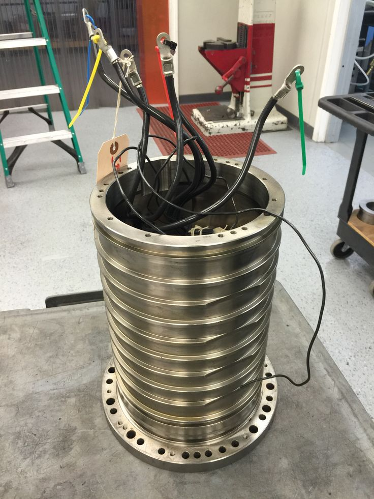 Just received this stator back from rewind.  #spindlerepair