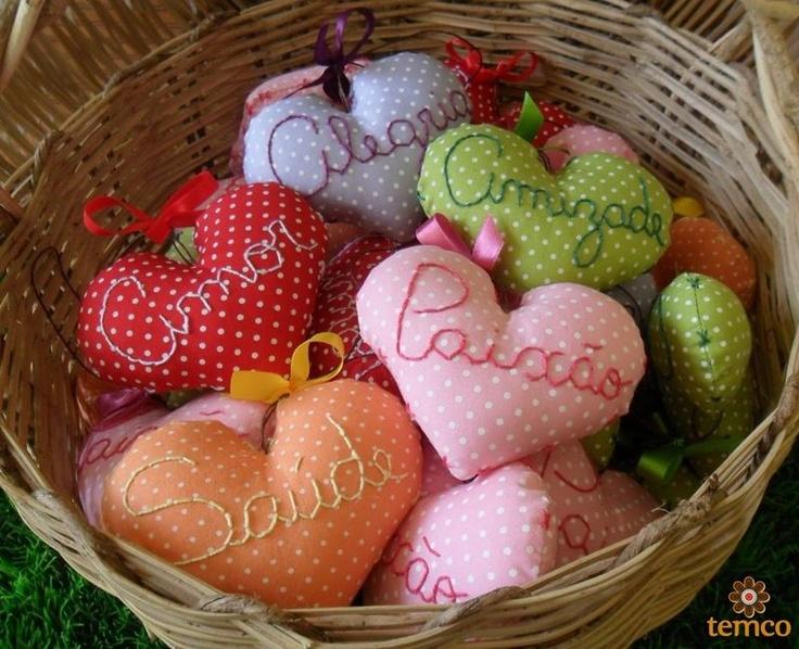 http://temco.tanlup.com/  Coração #1 | Lembrancinha - temco