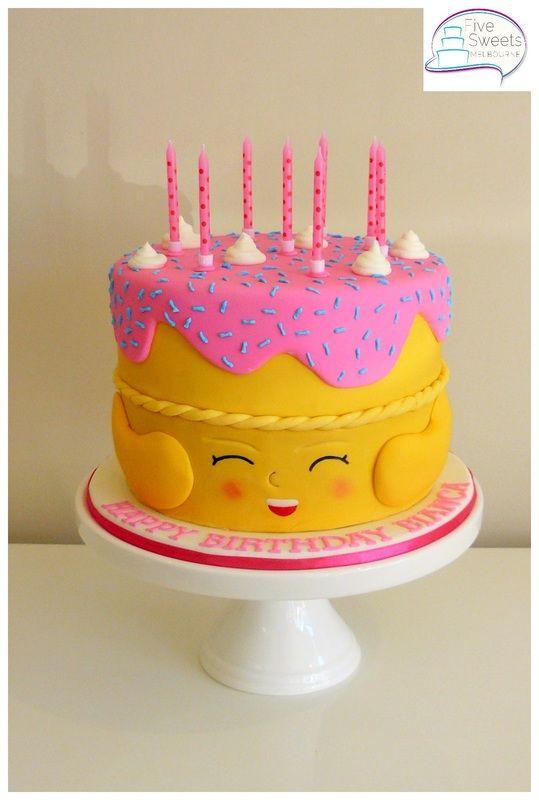 shopkins cake - Google Search
