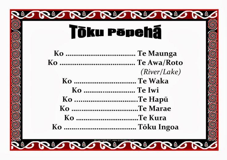 Room 11 (Akomanga 11) 2014: Tōku Pepeha (Ko wai koe? No hea koe?)