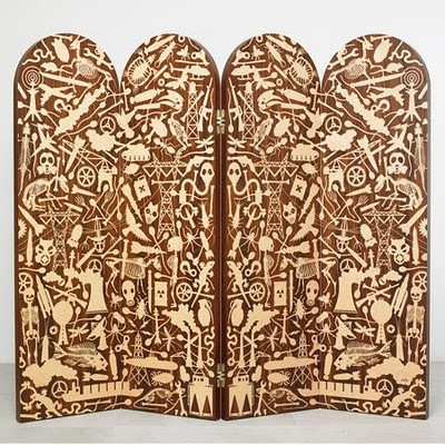 """Studio Job's """"Industry"""" marquetry collection"""