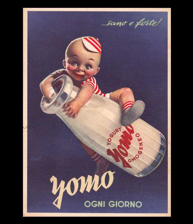 Poster pubblicitari con i bambini, Gino Boccasile - Children in advertisement posters