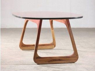 Table ovale en noyer STEEK | Table - Artisan