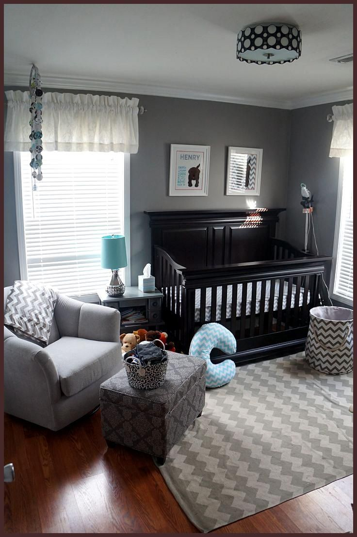 Baby Jungen Zimmer Ideen Henry S Chevron Nursery Project Nursery I Love Grey For A Nursery You Can Switch Out The Accessories And… | Babyzimmer Themen, Baby Jungenzimmer, Baby Kinderzimmer