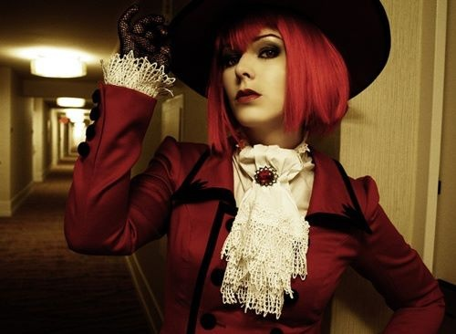cosplay Madame Red in Black Butler