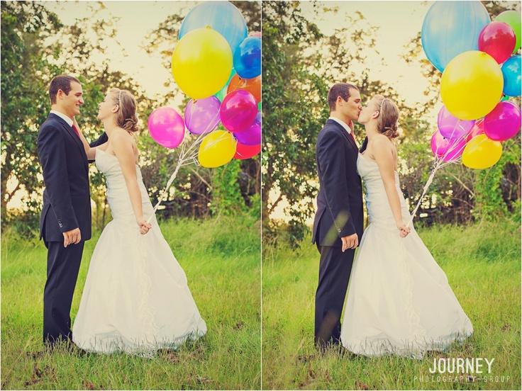 #wedding #rainbow #balloons #photography #props #pose