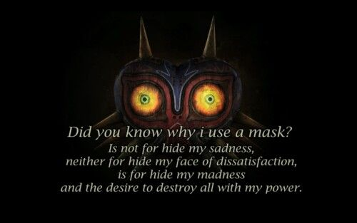 Majora's mask quote