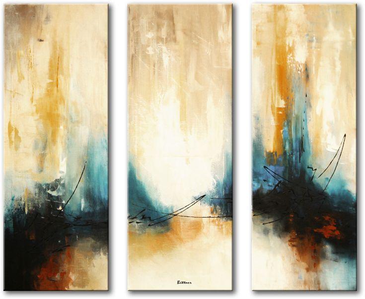 Abstracte kunstschilderijen - Kleur schilderij gang ...