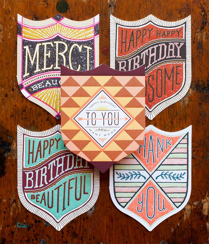 Hand-drawn badge series   Hammerpress http://hammerpress.net/ | Product Preview + 2013 National Stationery Show | #NSS #NationalStationeryShow