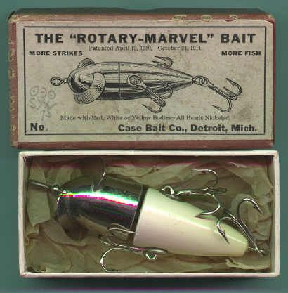 Antique Fishing Lures and their Wonderful Boxes