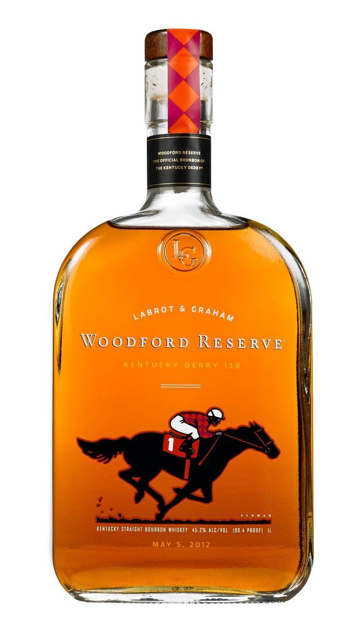 2012 Kentucky Derby 138 Woodford Reserve Bottle by artist Michael Schwab