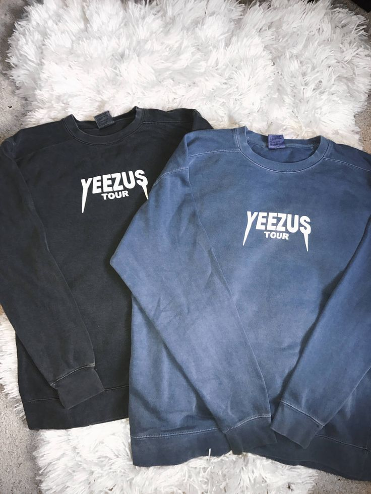 Yeezus Tour Unisex Kanye West Yeezy Saint Pablo Tour Crewneck Sweatshirt Merch by humblevogue on Etsy https://www.etsy.com/listing/523361987/yeezus-tour-unisex-kanye-west-yeezy