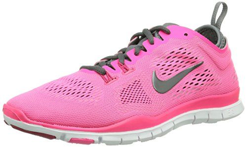 Nike Women\u0027s Free 5.0 TR Fit 4 - Hyper Pink / Dark Grey-Cool Grey
