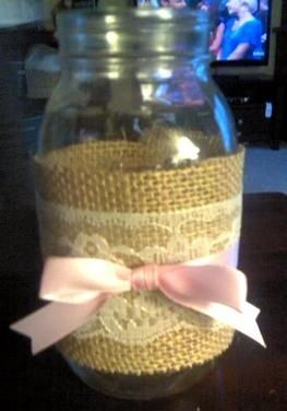 baby girl shower decorations --- all thats needed is some flowers