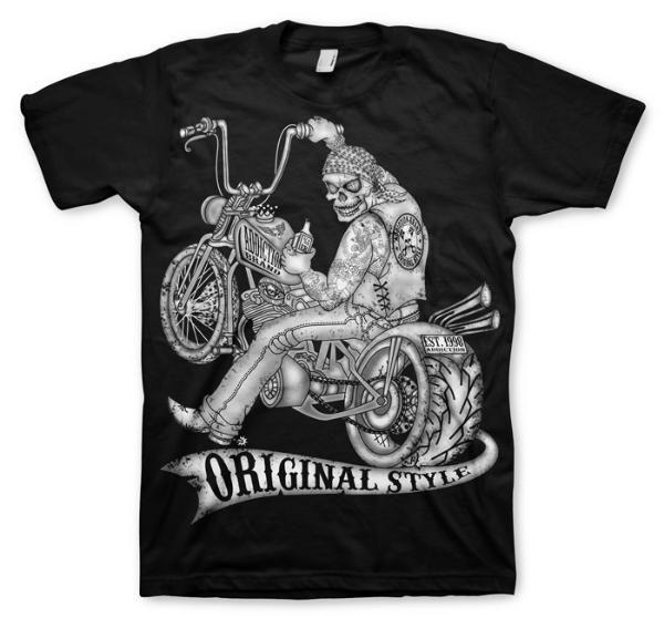 Addiction Brand Biker T Shirts Biker Clothing Tattoo