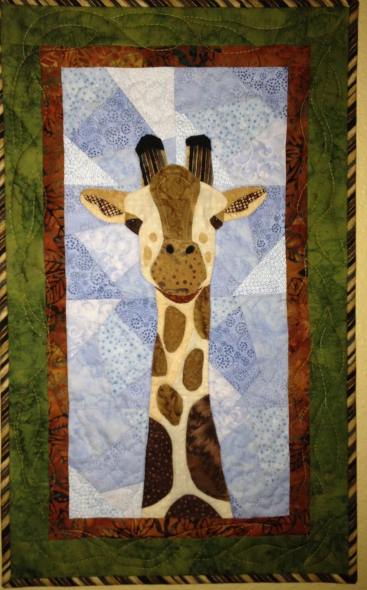 Pieced Giraffe Quilt Pattern Posted In Uncategorized 3