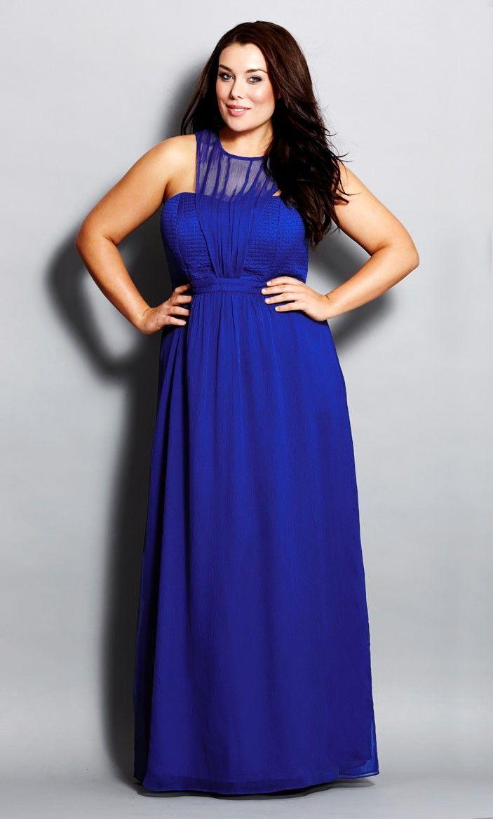 Royale Maxi Dress 95738COBALT