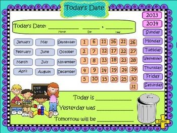 It's not too late to ramp up your calendar routine...Now updated with lots more activities for 3rd grade, my SMARTBoard math calendar will give your students regular and repeated practice with so many Common Core math skills! Now includes arrays, perimeter, area, higher place value, greater than/less than, rounding, weather graphs and ten frames, in addition to all the earlier components. This one file can be used every day of the year! Check out my preview file to see what's included.