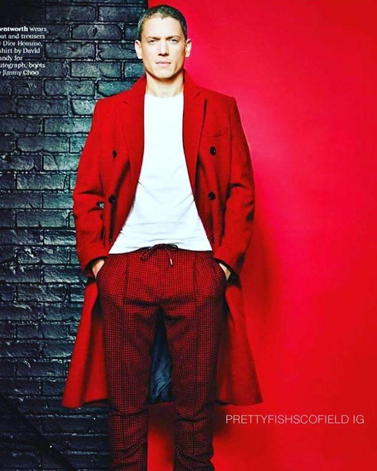 #WentworthMiller #Attitude #Manoftheyear #Red (thanks To