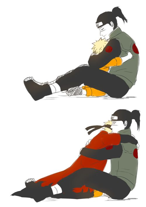 Naruto and iruka the feels